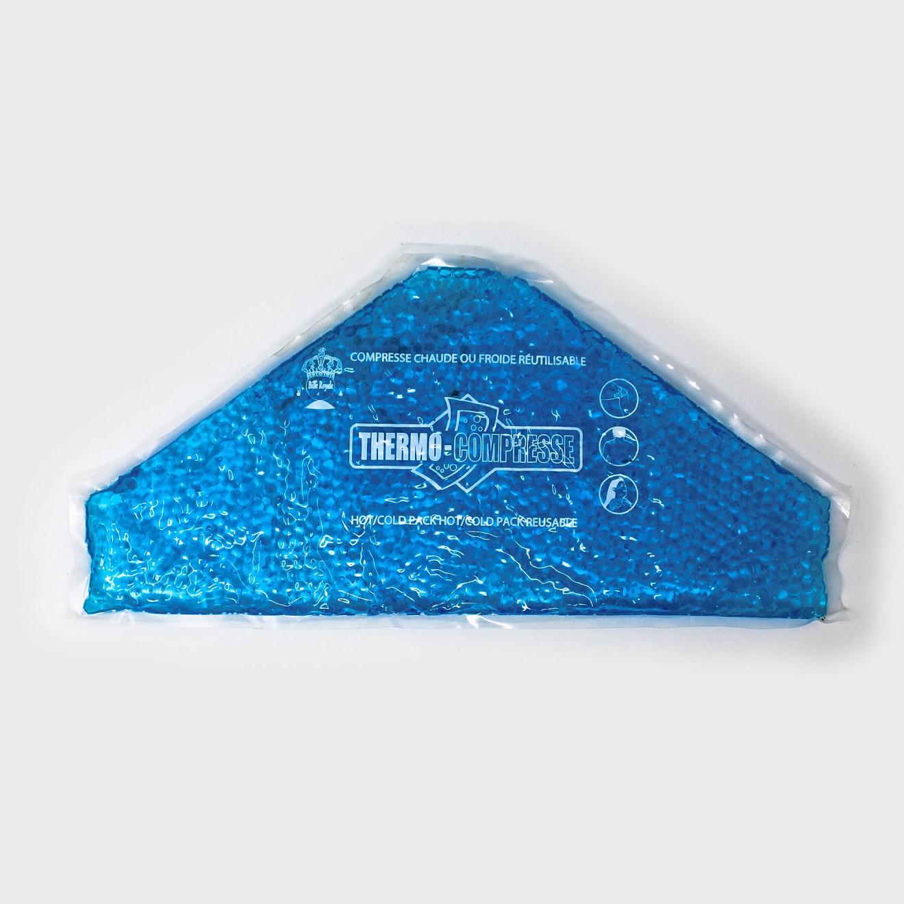 Compresse chaude ou froide pour genou 8.75''x18'' Triangle