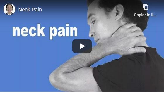 Comment guérir la douleur au cou?