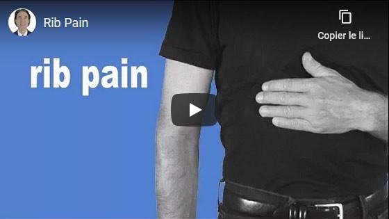 Comment guérir les douleurs aux côte?