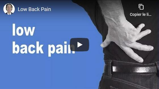 Comment guérir les douleurs lombaires?