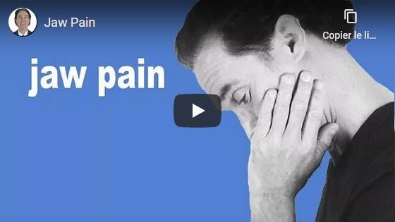 Comment guérir les maux de mâchoire?