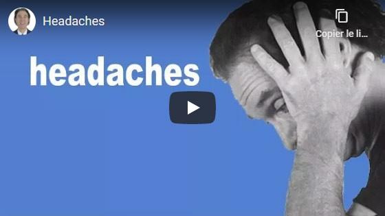 Comment guérir les maux de tête?
